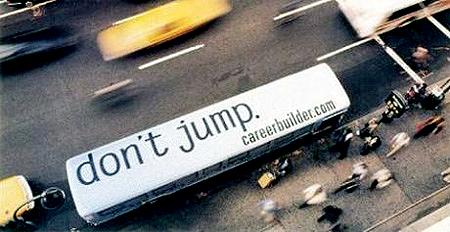 career buildersdont jump cheeps from hunter mcmain