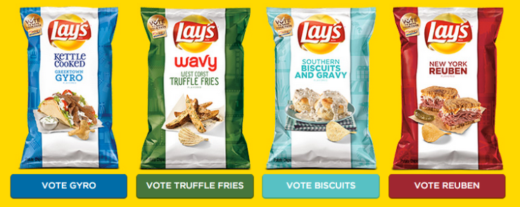 Lays 4 Flavors