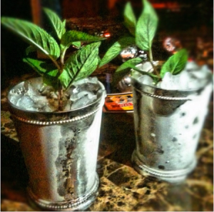 There's nothing like a classic mint julep! Image courtesy of https://cocktailvultures.files.wordpress.com