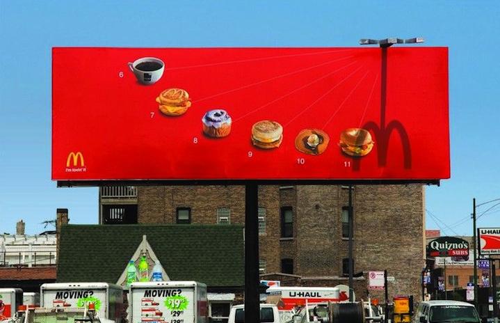 McDonalds Oclock Ad