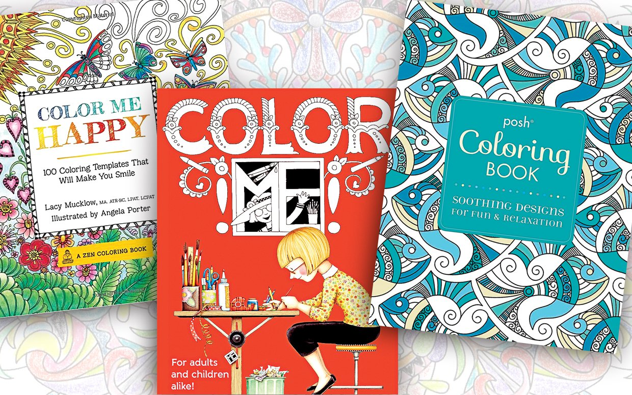 Now Trending Adult Coloring Books Cheeps From Hunter Mcmain