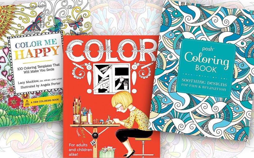 Now Trending Adult Coloring Books